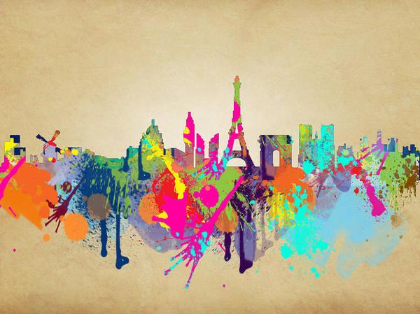Wall Art - Painting - Paris by Mark Ashkenazi