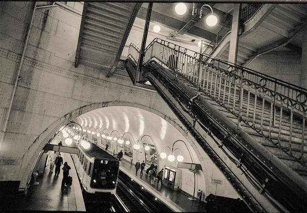 Photograph - Paris Metro 1 by Matthew Pace