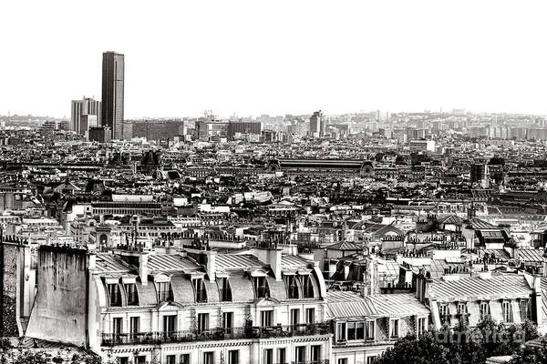 Parisian Photograph - Paris Montparnasse by Olivier Le Queinec