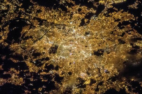Wall Art - Photograph - Paris by Nasa/science Photo Library