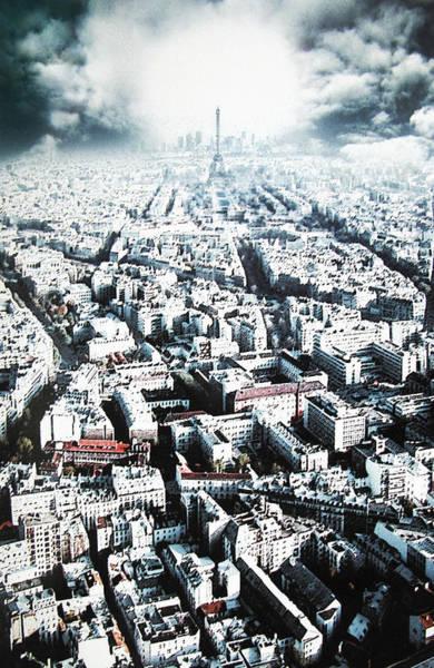 Photograph - Paris Network by Kim Lessel