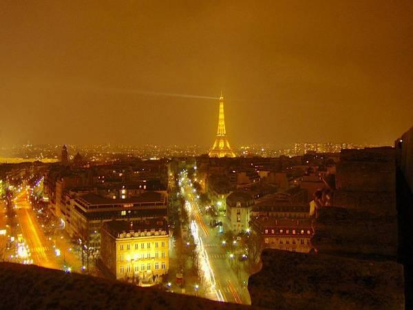 Photograph - Paris Orange by Marc Philippe Joly