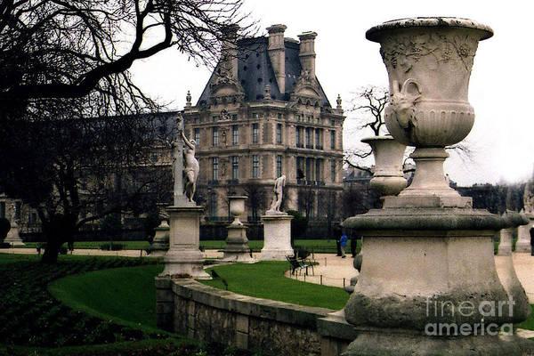 Jardin Des Tuileries Photograph - Paris Louvre Tuileries Park - Jardin Des Tuileries Garden - Paris Landmark Garden Sculpture Park by Kathy Fornal