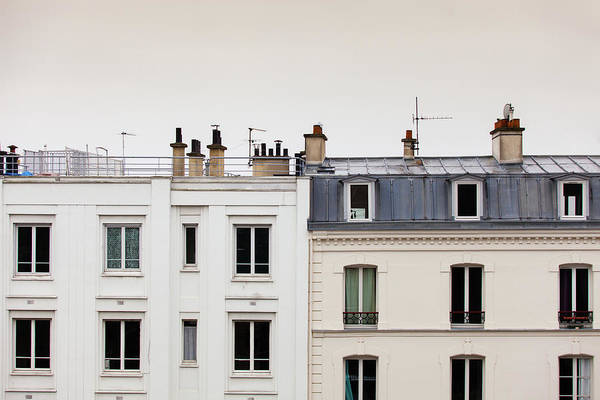 Paris Rooftop Photograph - Paris Roofline by Halbergman