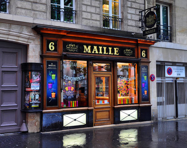 Photograph - Paris Shop by Matthew Chapman