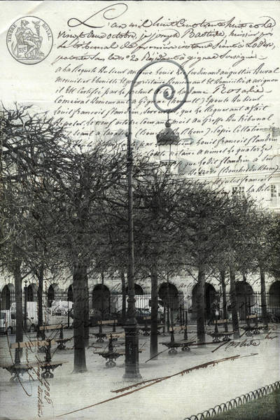 Photograph - Paris Story In The Park by Evie Carrier