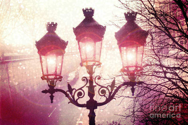 Sparkle Wall Art - Photograph - Paris Street Lanterns Lamps Street Architecture - Paris Ornate Lanterns Lamps by Kathy Fornal