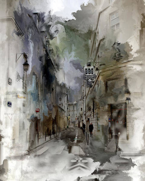 Photograph - Paris Street View by Evie Carrier