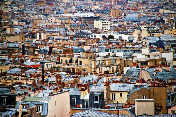Paris Rooftop Photograph - Paris by Ulrich Mueller