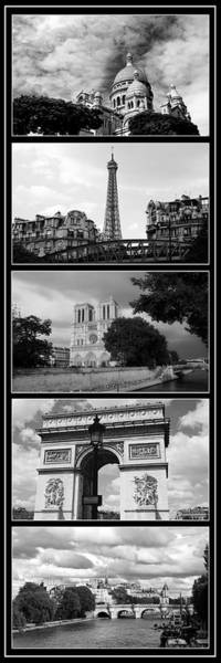 Photograph - Paris Views 1 by Andrew Fare