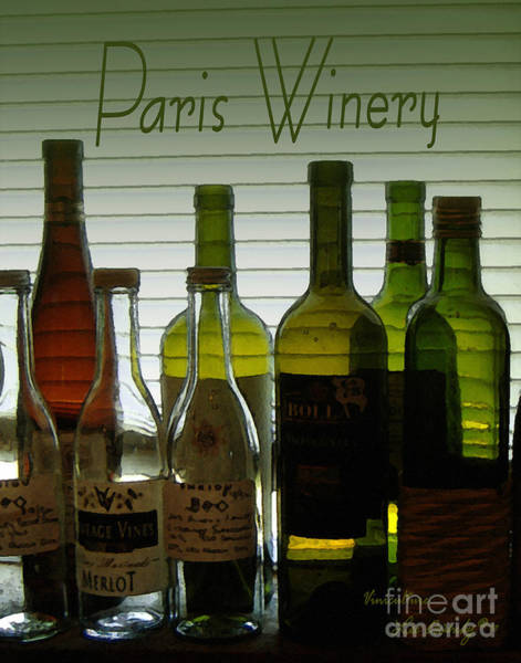 Photograph - Paris Winery Viniculture by Lee Owenby