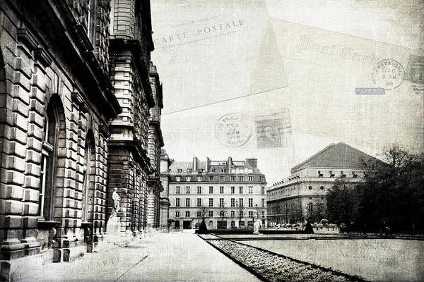 Photograph - Paris Wish You Were Here by Evie Carrier