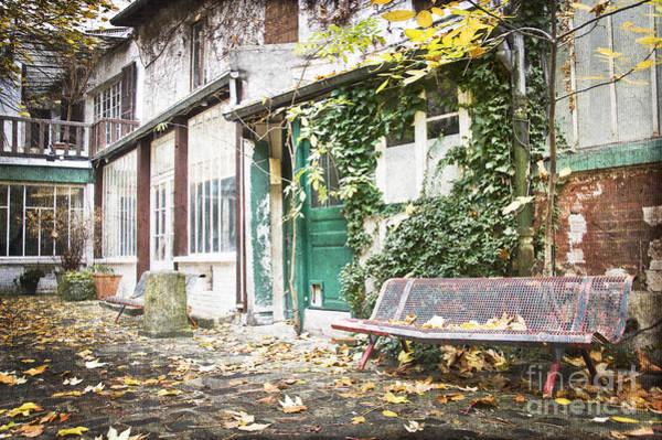 Parisian Photograph - Parisian Alley by Delphimages Photo Creations