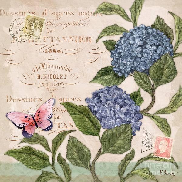 Parisian Hydrangea II Art Print