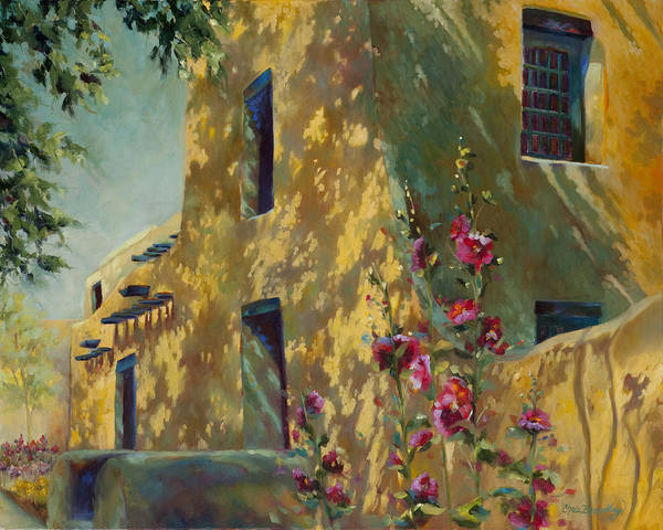 Adobe Walls Painting - Park Avenue Pueblo by Chris Brandley