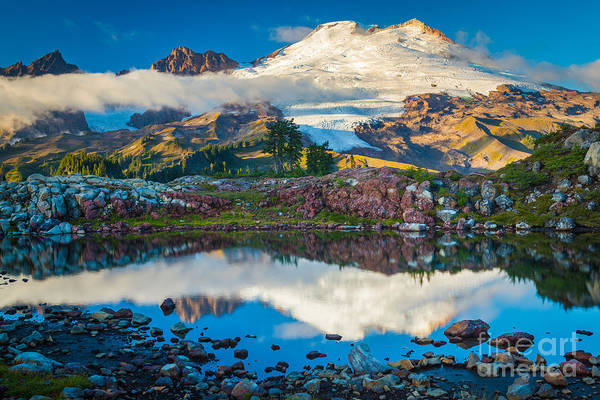 Photograph - Park Butte Tarn by Inge Johnsson