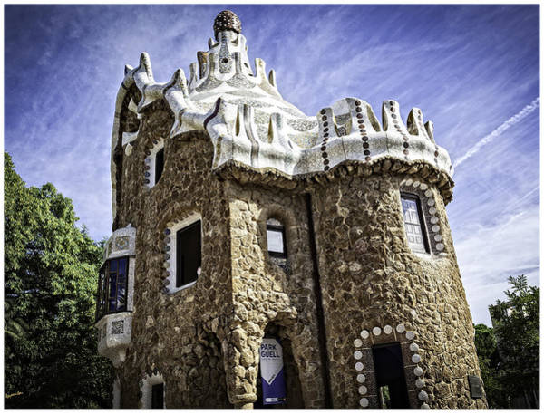 Wall Art - Photograph - Park Guell - Barcelona - Spain by Madeline Ellis