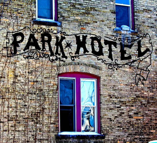Photograph - Park Hotel by Jp Grace