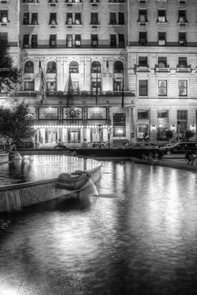 Photograph - Park Plaza Hotel New York by Dave Beckerman
