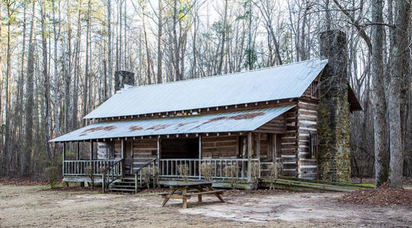 Photograph - Park Ranger Cabin by Charles Hite