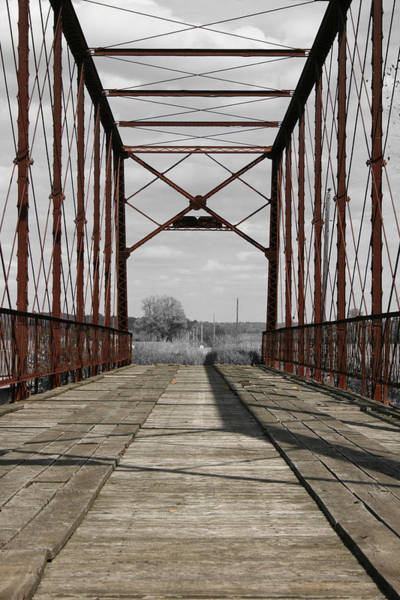 Photograph - Parke Truss by Dylan Punke
