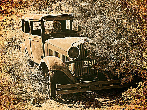 Photograph - Parked 3 by Leland D Howard