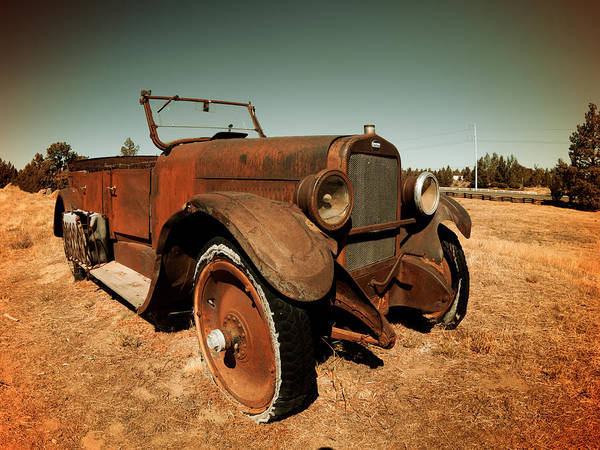 Photograph - Parked 4 by Leland D Howard