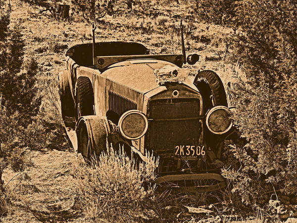 Photograph - Parked by Leland D Howard