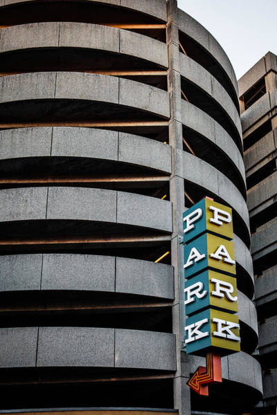 Photograph - Parking In The Round by Melinda Ledsome