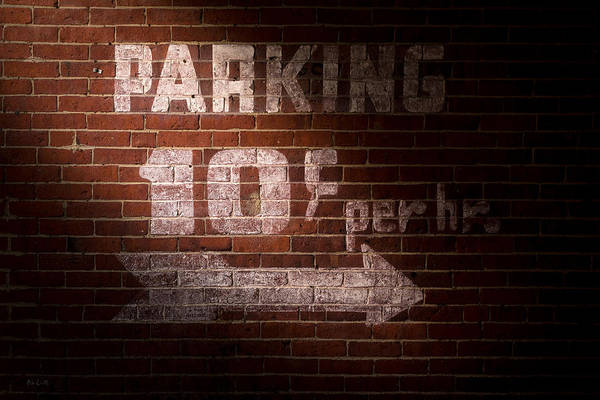 Photograph - Parking Ten Cents by Bob Orsillo