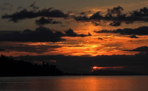 Photograph - Parksville Sunset by Randy Hall