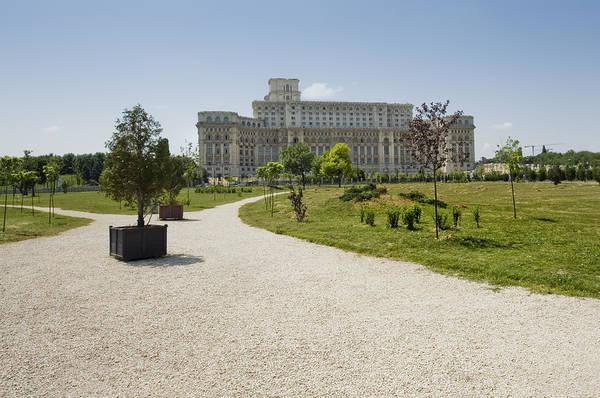 Ceausescu Wall Art - Photograph - Parliament At Summer Bucharest by Ioan Panaite
