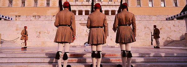 Honor Guard Photograph - Parliament, Athens, Greece by Panoramic Images