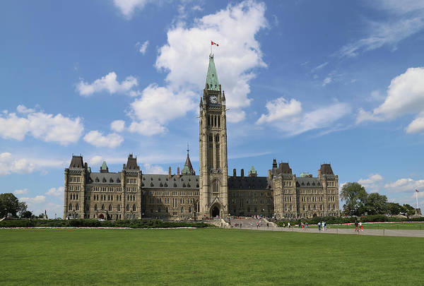 Canadian Culture Photograph - Parliament Hill, Peace Tower, Ottawa by Buena Vista Images