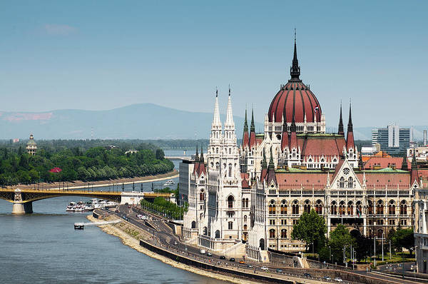 Capital Cities Photograph - Parliament On Danube River by Ph Ferdinando Scavone