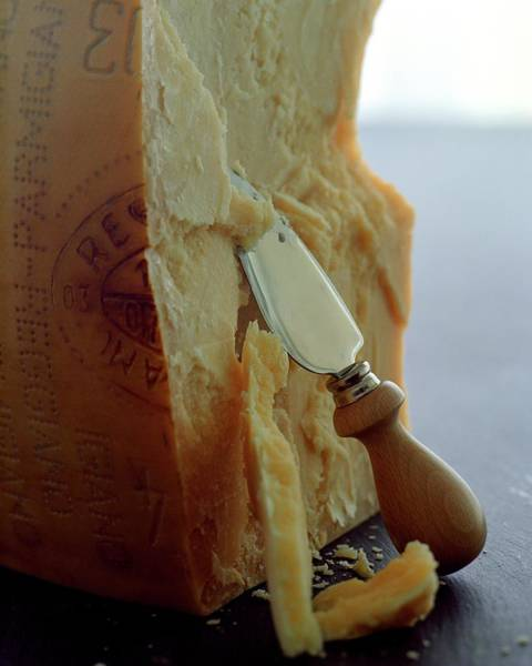 Dine Photograph - Parmigiano-reggiano Cheese by Romulo Yanes