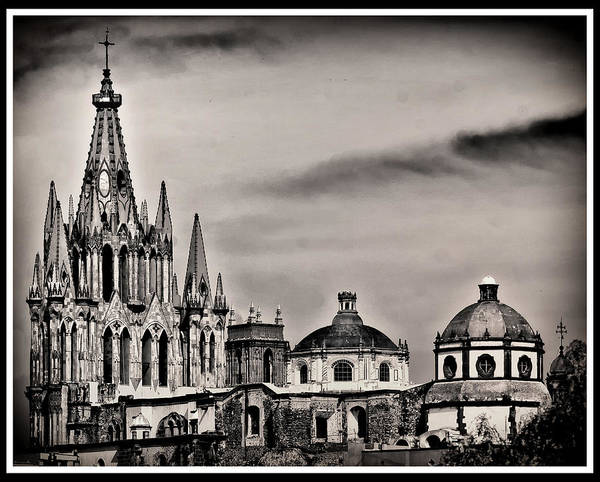 Photograph - Parroquia Church by Barry Weiss