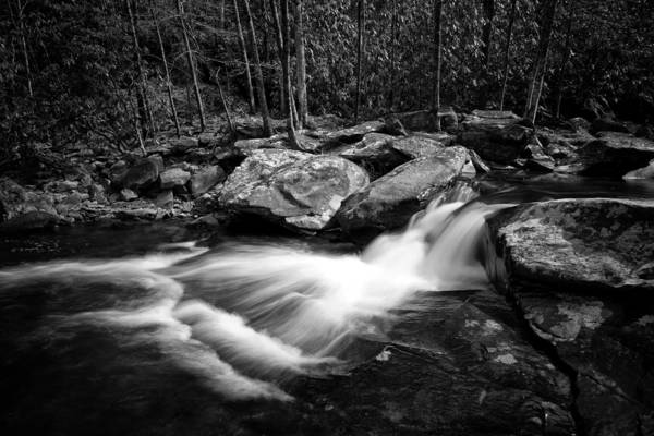 Photograph - Part Of Hebron Rock Colony Falls by Ben Shields