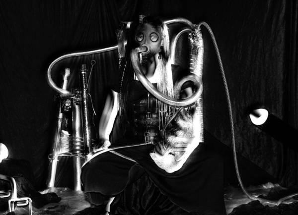 Photograph - Partage Le Masque A Gaz De Lapin 19 by Tarey Potter