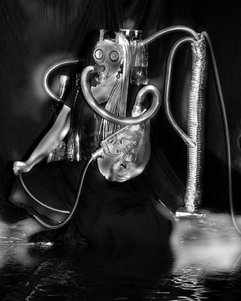 Photograph - Partage Le Masque A Gaz De Lapin 30 by Tarey Potter