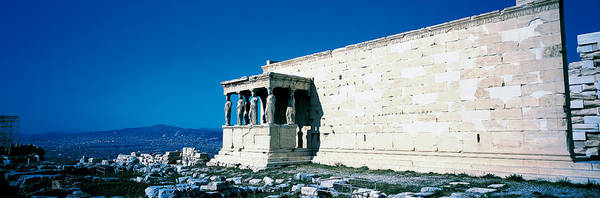 Wonders Of The World Photograph - Parthenon Complex Athens Greece by Panoramic Images