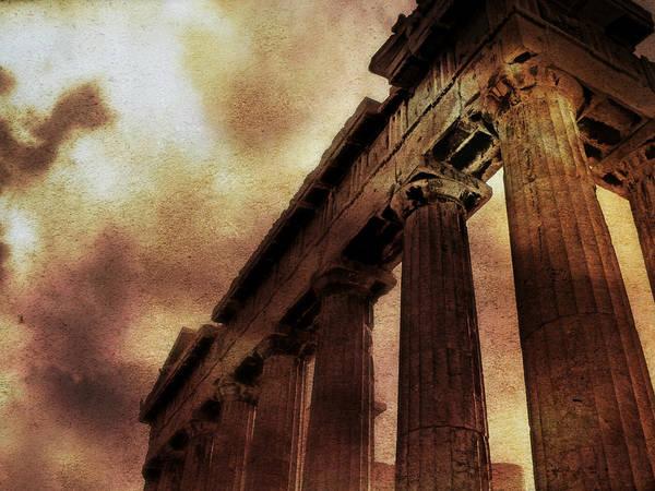 Photograph - Parthenon by Micki Findlay
