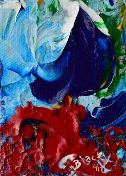 Wall Art - Painting - Parting The Red Sea by Donna Blackhall