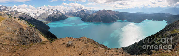 Photograph - Partly Coudy Over Panorama Ridge by Adam Jewell
