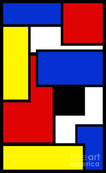 Digital Art - Partridge Family Abstract 2 A by Andee Design