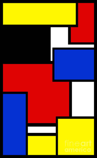 Digital Art - Partridge Family Abstract 3 A by Andee Design