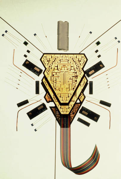 Land Mark Photograph - Parts Of An Analogue Robot by Peter Menzel/science Photo Library