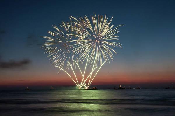 Scheveningen Photograph - Party At The Beach by Vikas Gupta