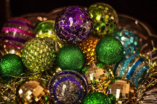 Photograph - Party Balls by Andy Crawford