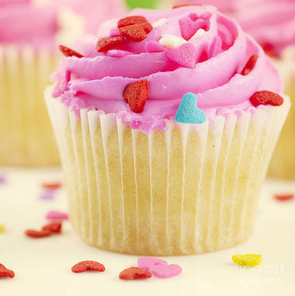 Cupcakes Photograph - Party Cake by Juli Scalzi
